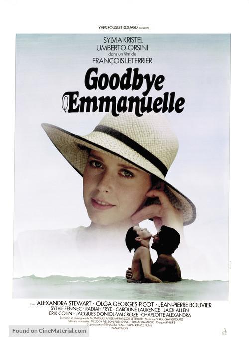 Good-bye, Emmanuelle - French Movie Poster