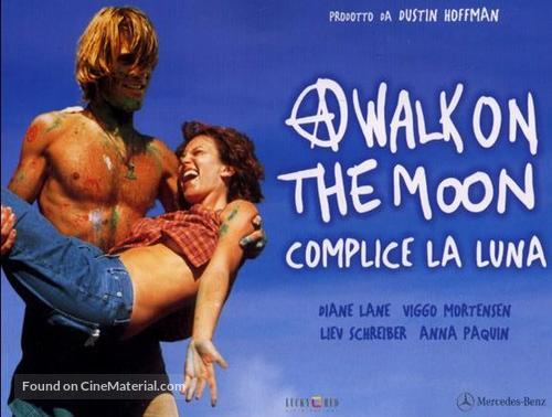 A Walk on the Moon - Italian Movie Poster