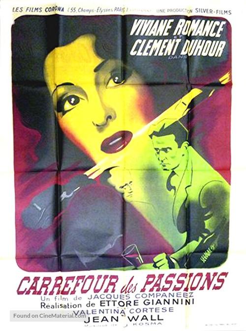 Gli uomini sono nemici - French Movie Poster
