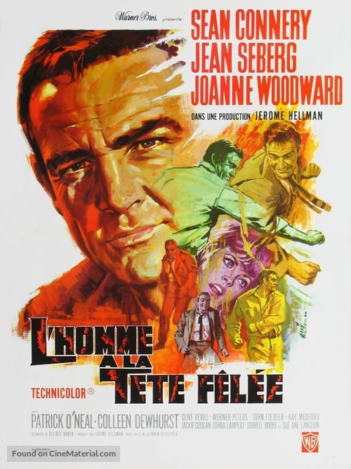 A Fine Madness - French Movie Poster