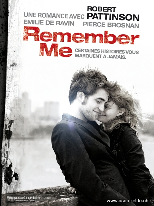 Remember Me - Swiss Movie Poster