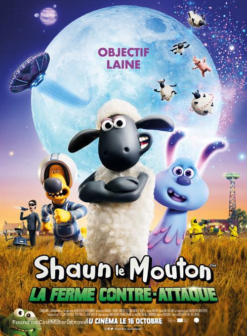 Shaun the Sheep Movie: Farmageddon - French Movie Poster