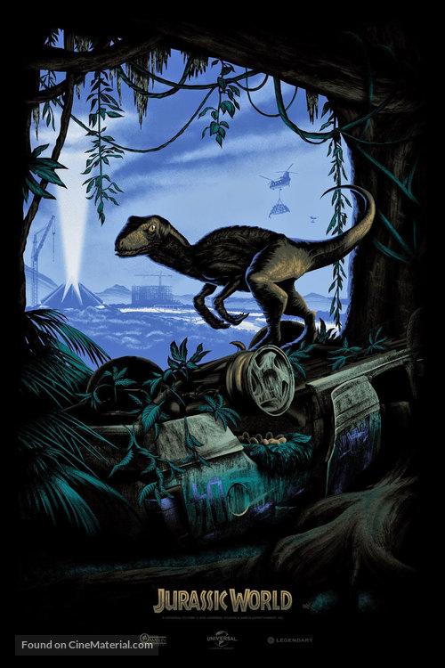 Jurassic World - Movie Poster