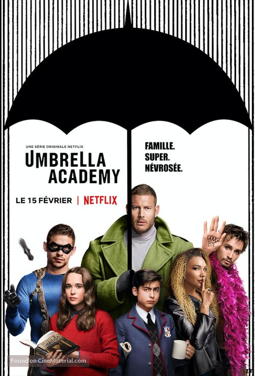 """""""The Umbrella Academy"""" - French Movie Poster"""