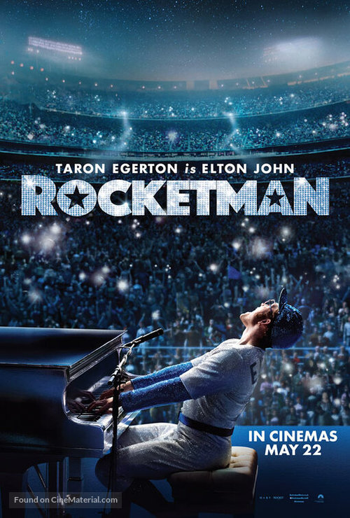 Rocketman - British Movie Poster