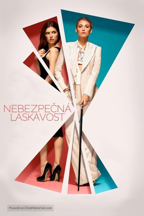 A Simple Favor - Czech Movie Cover