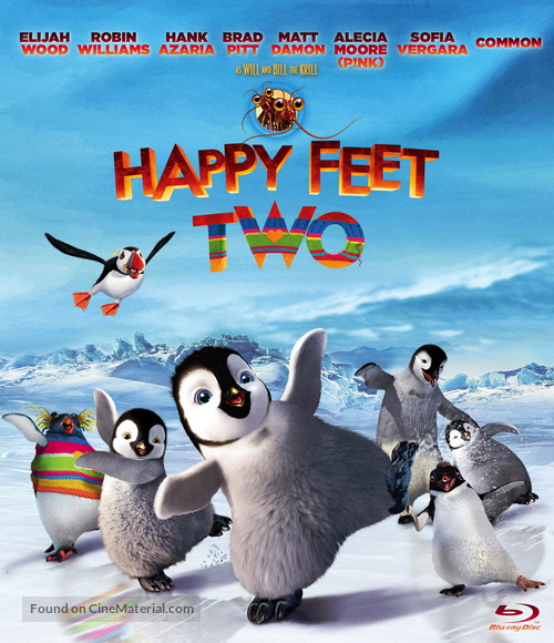 Happy Feet Two - Blu-Ray movie cover