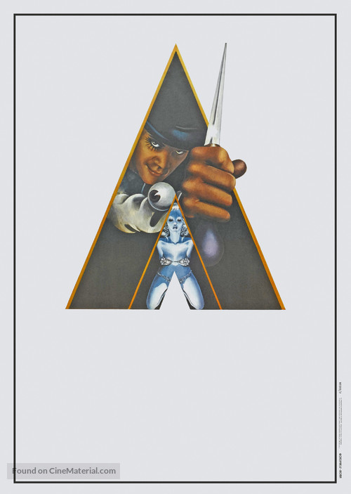 A Clockwork Orange - Italian Movie Poster