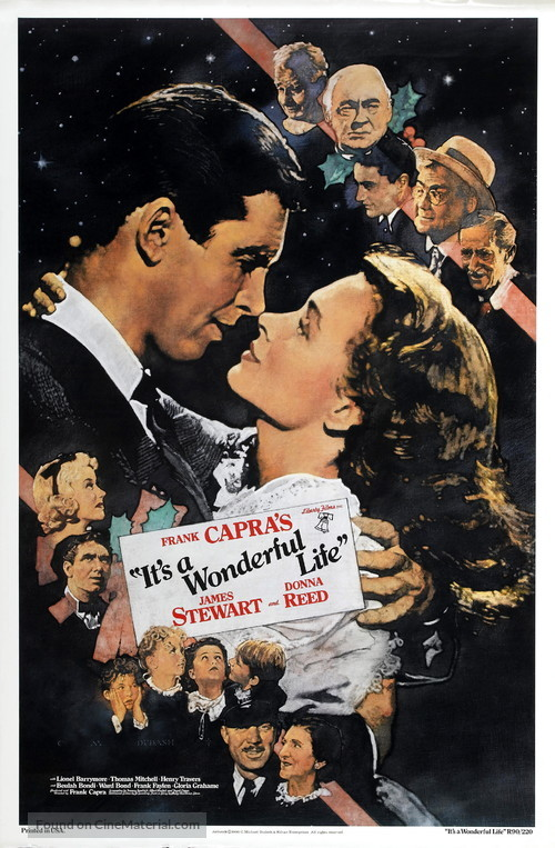It's a Wonderful Life - Re-release poster