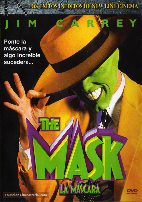 The Mask - Mexican Movie Cover