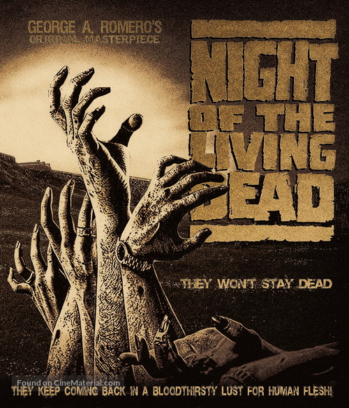 Night of the Living Dead - Movie Cover