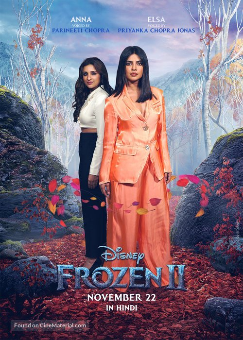 Frozen II - Indian Movie Poster