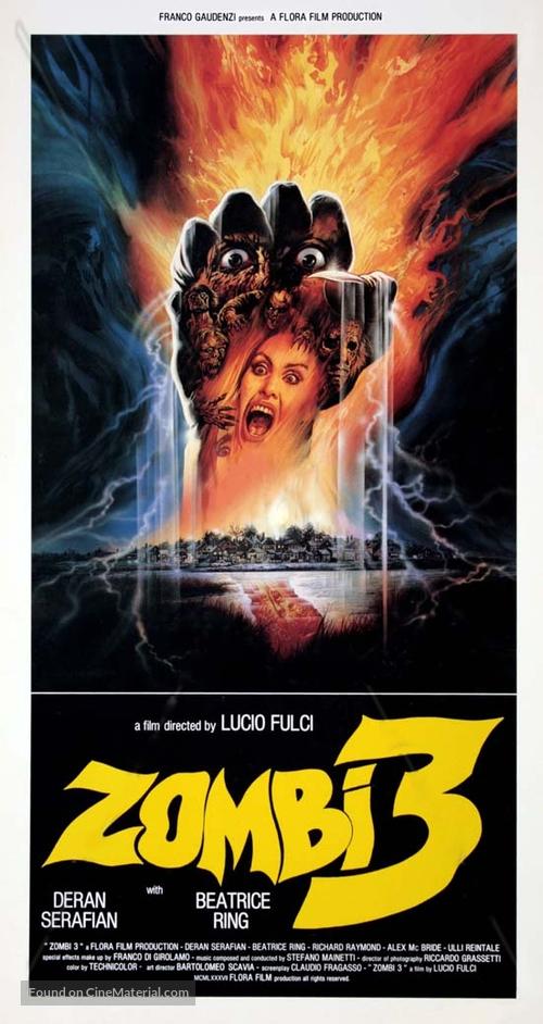 Zombi 3 - Italian Movie Poster