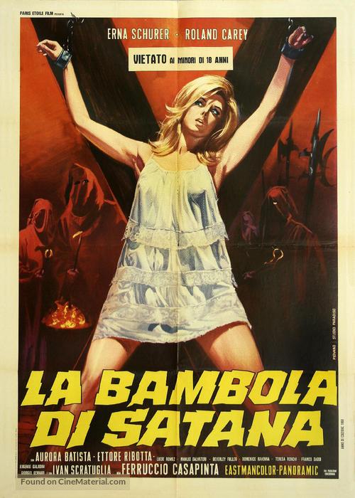 La bambola di Satana - Italian Movie Poster