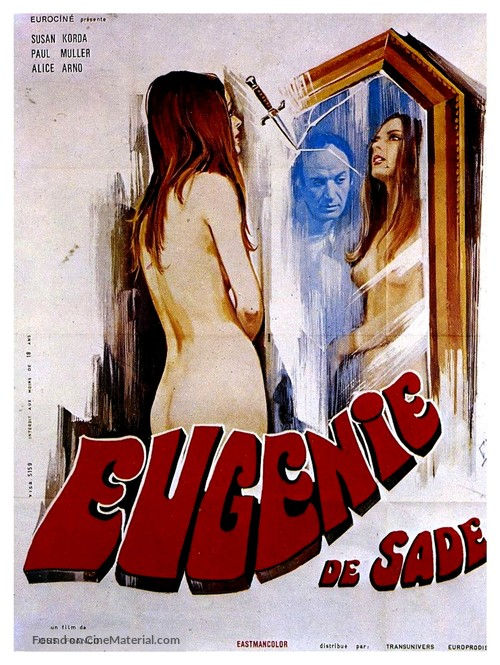 Eugenie - French Movie Poster