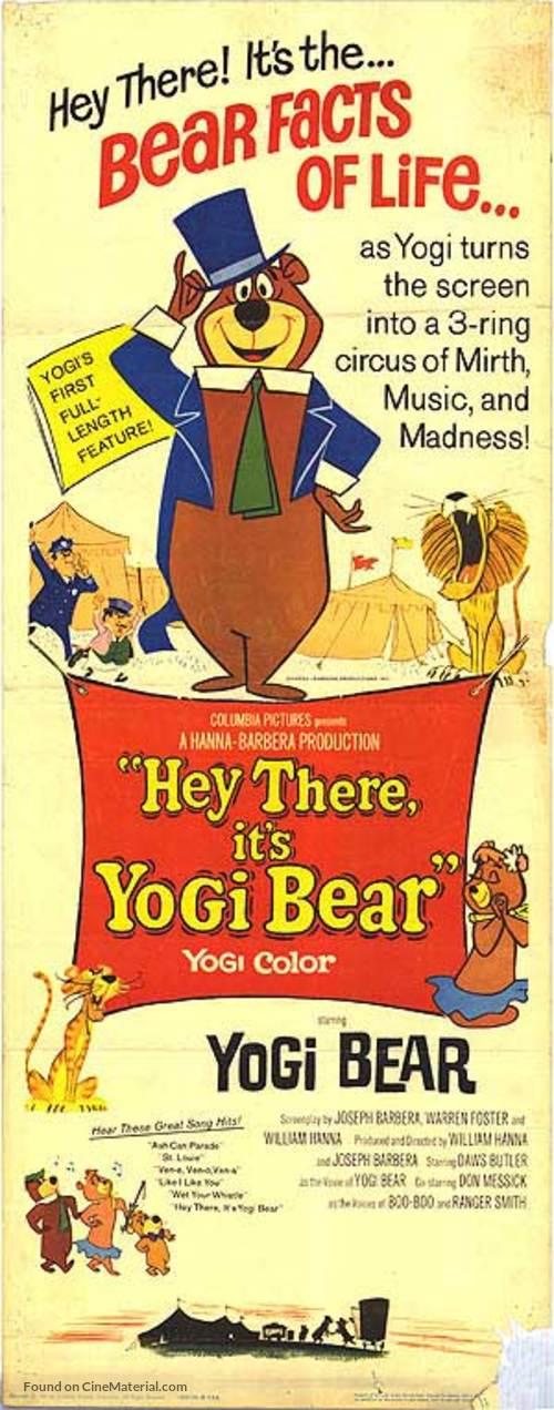 Hey There, It's Yogi Bear - Movie Poster