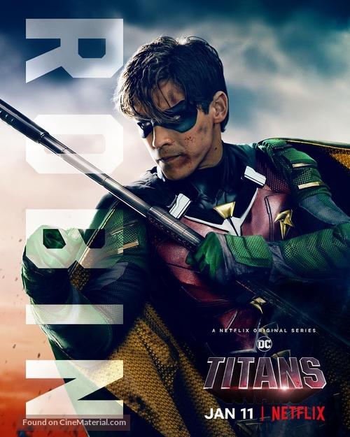 Titans - British Movie Poster