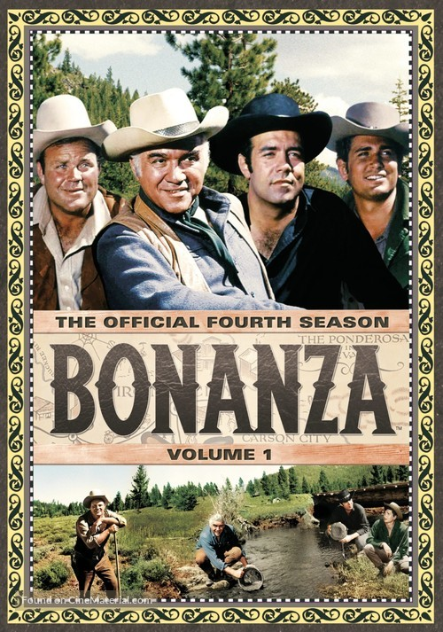 """Bonanza"" - DVD cover"