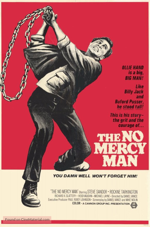The No Mercy Man - Movie Poster