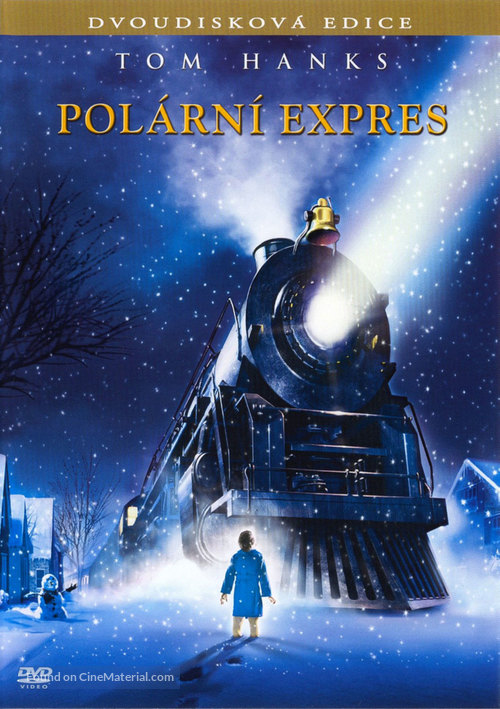 The Polar Express - Czech DVD movie cover