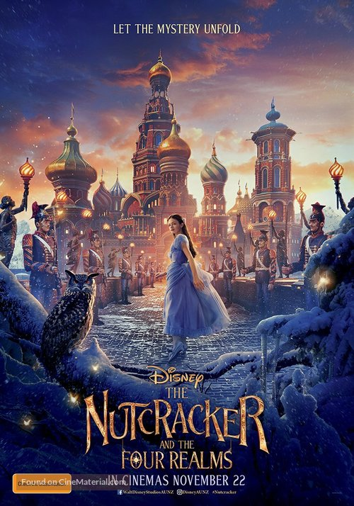 The Nutcracker and the Four Realms - Australian Movie Poster