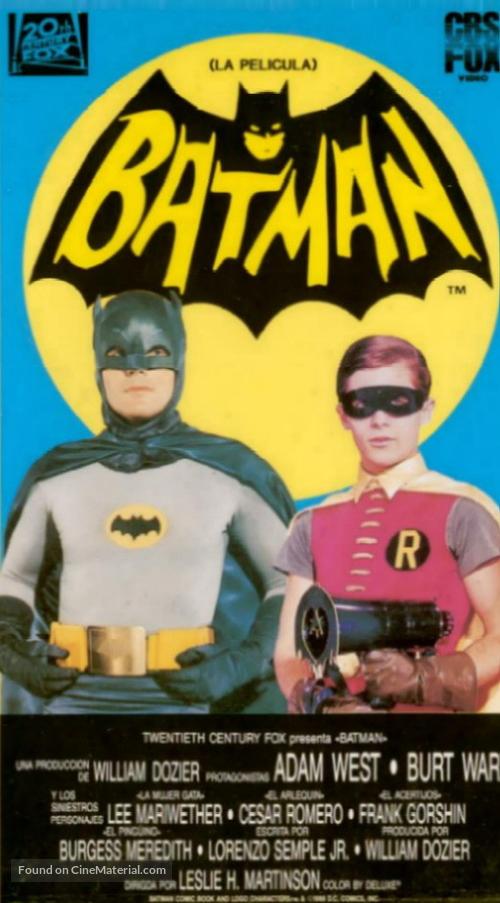 Batman - Spanish Movie Cover
