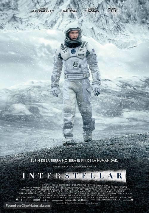 Interstellar - Spanish Movie Poster