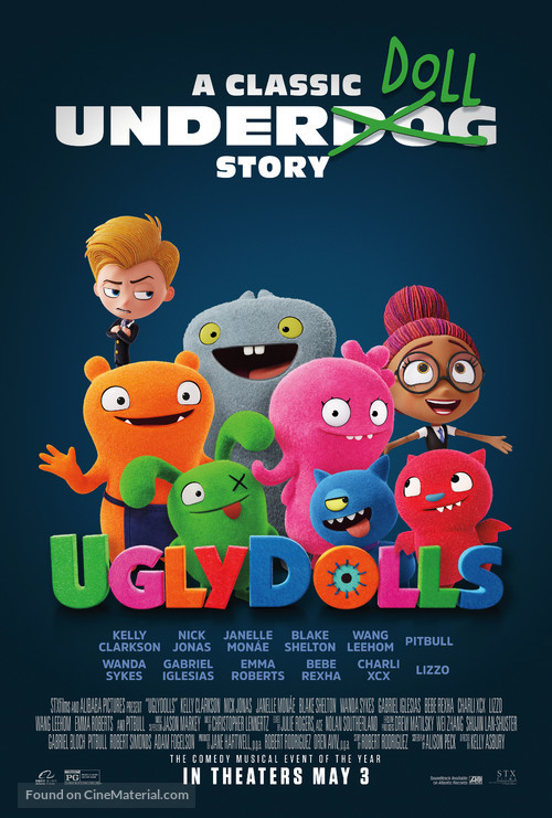 UglyDolls - Theatrical movie poster