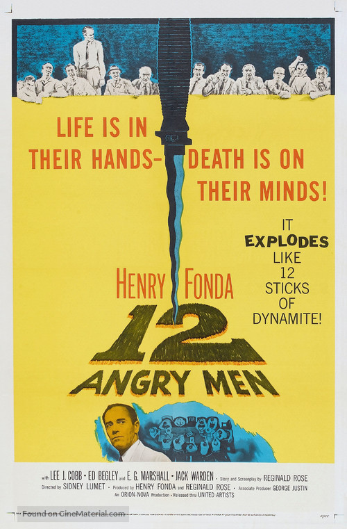12 Angry Men - Theatrical movie poster