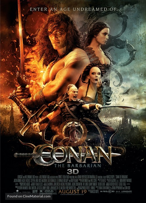 Conan the Barbarian - Movie Poster