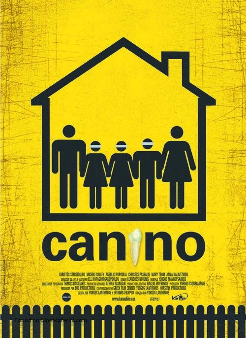 Kynodontas - Spanish Movie Poster
