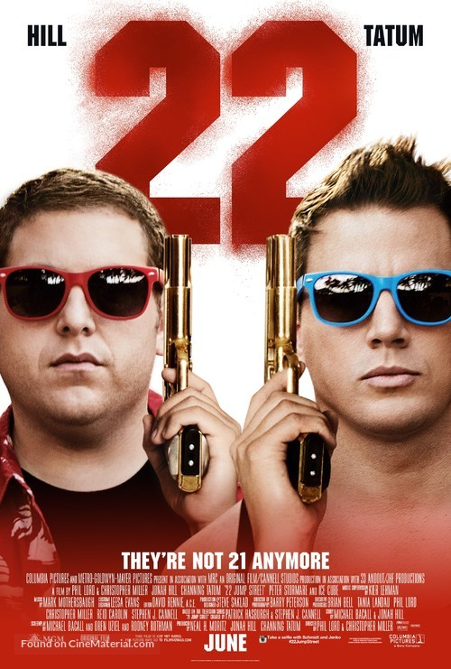22 Jump Street - Movie Poster