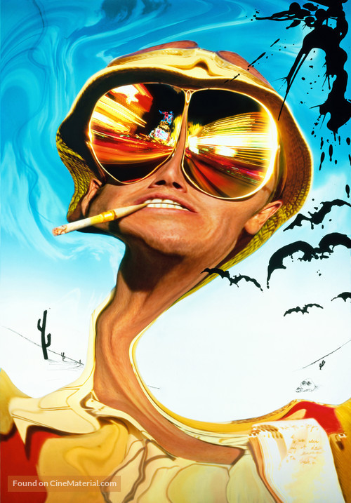 Fear And Loathing In Las Vegas - British Movie Poster