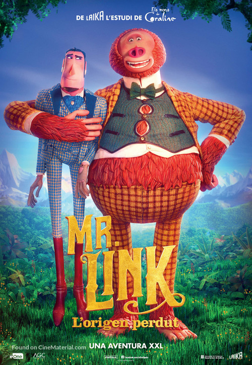 Missing Link - Andorran Movie Poster