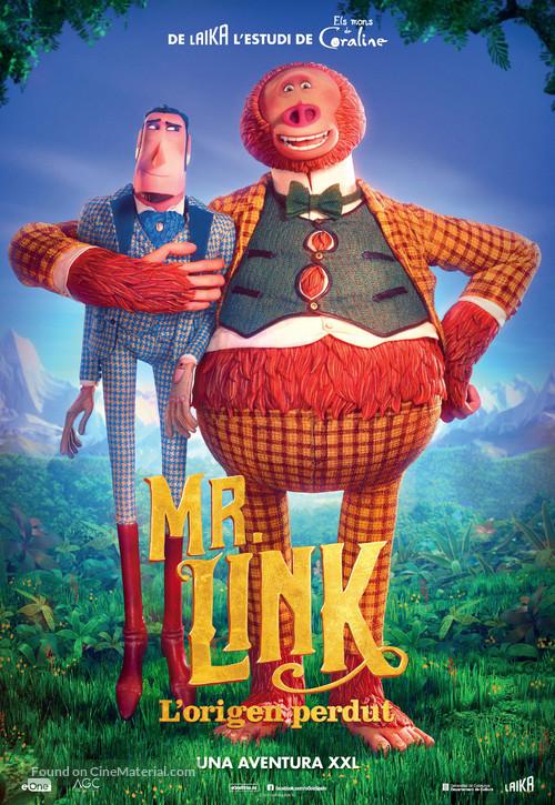 Missing Link - Andorran Movie Poster