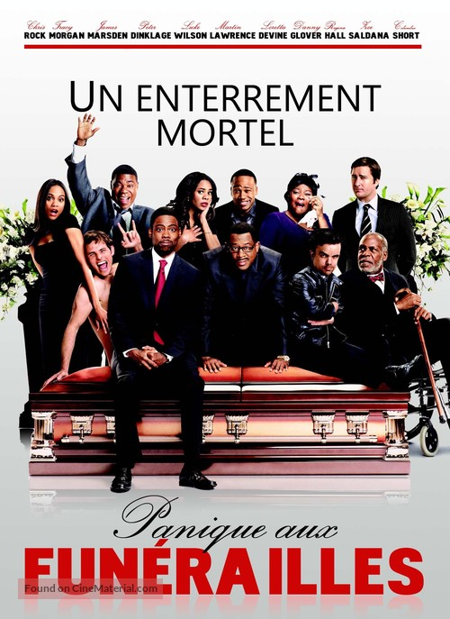 Death at a Funeral - French DVD cover