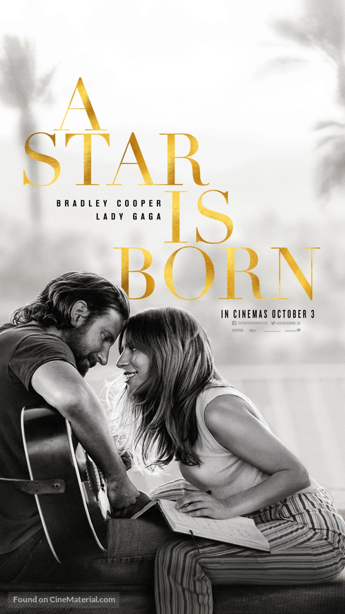 A Star Is Born - British Movie Poster