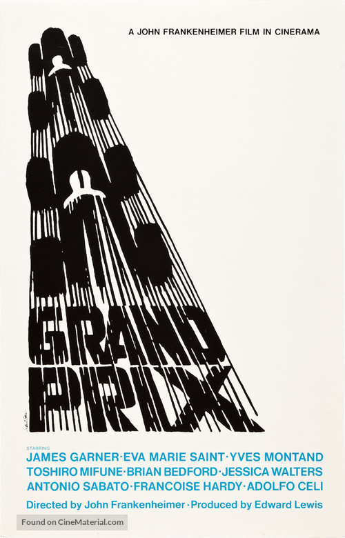 Grand Prix - Movie Poster