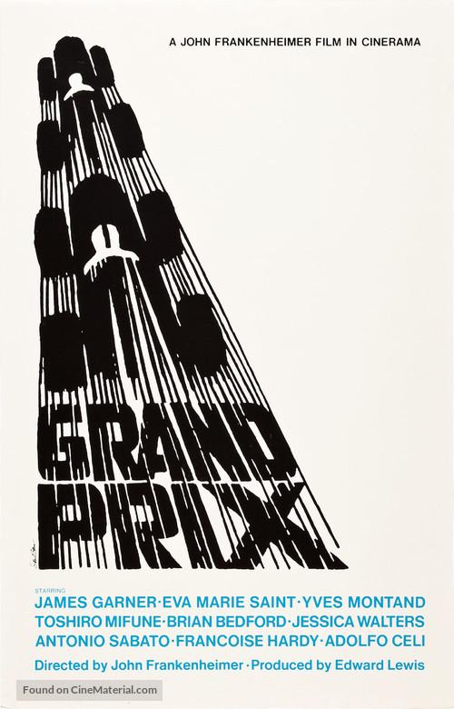 Grand Prix - Movie Poster