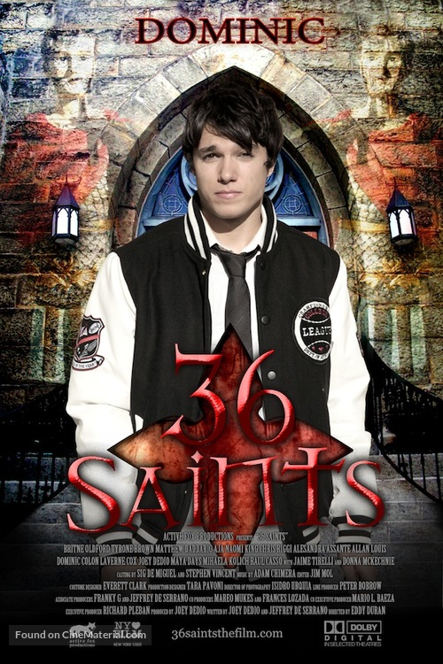 36 Saints - Movie Poster