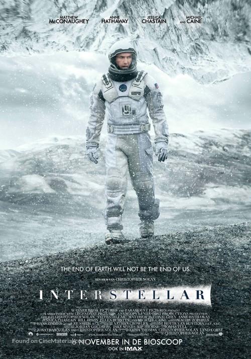 Interstellar - Dutch Movie Poster