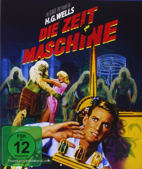 The Time Machine - German Movie Cover