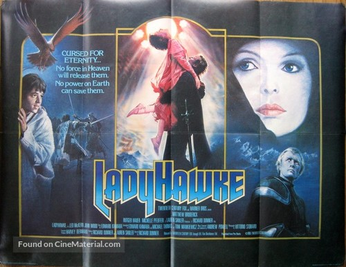 Ladyhawke - British Movie Poster