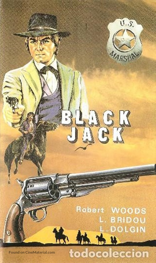 Black Jack - Spanish VHS movie cover