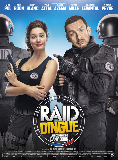 Raid dingue - French Movie Poster