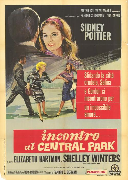A Patch of Blue - Italian Movie Poster