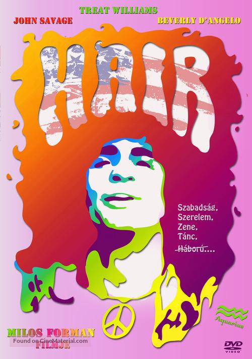 Hair - DVD cover
