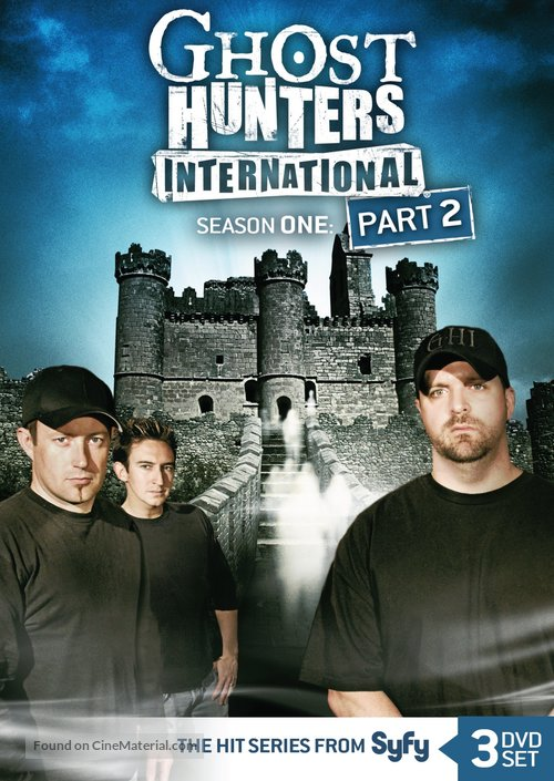 """Ghost Hunters International"" - DVD cover"