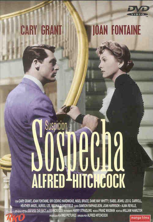 Suspicion - Spanish DVD cover