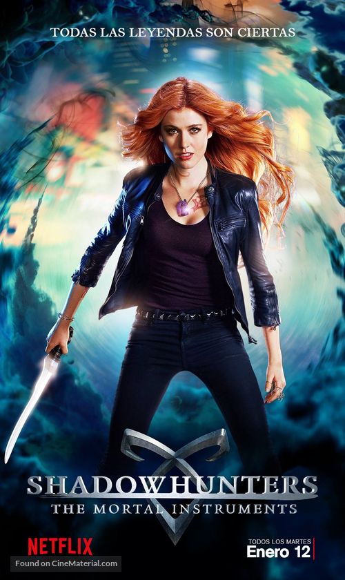 """""""Shadowhunters"""" - Argentinian Movie Poster"""